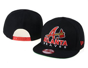 Atlanta Braves MLB Snapback Hat 60D1